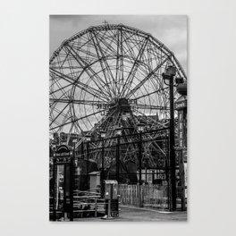 The Wonder Wheel Canvas Print