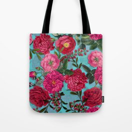 Vintage & Shabby Chic - Summer Tropical Garden I Tote Bag