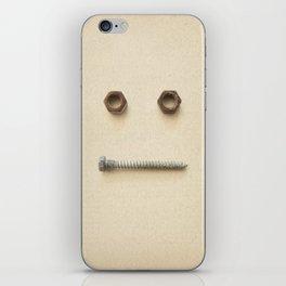 the Forgotten Workshop series- Bolt & Nut iPhone Skin