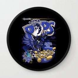 Equestria's Luna Pops Wall Clock
