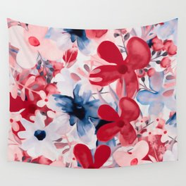 Berry Blooms Wall Tapestry