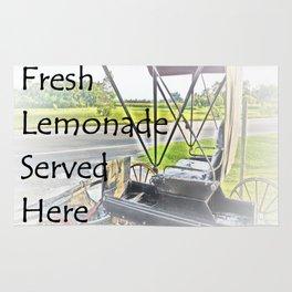 Fresh Lemonade Served Here Rug