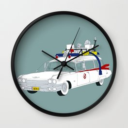 Ecto-1 Wall Clock