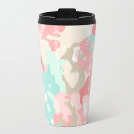 Branch - abstract minimal modern art office home decor dorm gender neutral bright happy painting Travel Mug