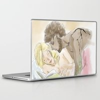les mis Laptop & iPad Skins featuring Platonic Partners Les Miserables by Pruoviare