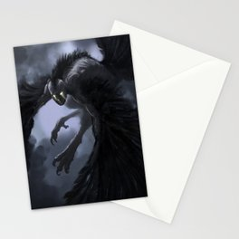 harpie-blue Stationery Cards