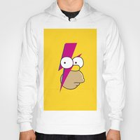 homer Hoodies featuring Homer Stardust by lapinette