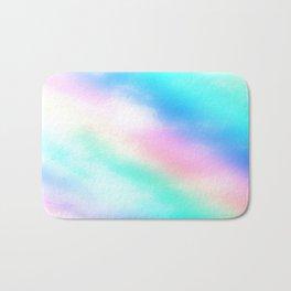 Rainbow Pastel Bath Mat