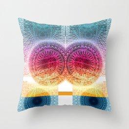 Hyper-DimensionWAH Throw Pillow