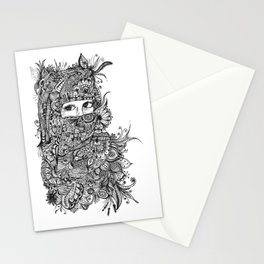 Unspoken words Stationery Cards