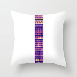 Tesla Schumann Resonance Throw Pillow