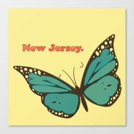 New Jersey: Butterfly Majesty Canvas Print