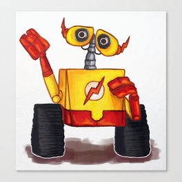 Wall-E West Canvas Print