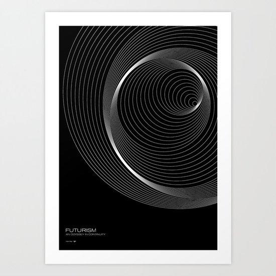 Futurism - Orbits Art Print