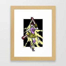 365 Space Wrestlers: Spirit Saw Framed Art Print