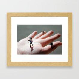 Hand of God Framed Art Print