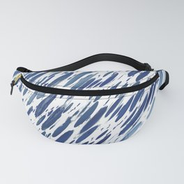 Boho Blue Brushstroke Fanny Pack