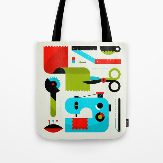 Sewing Kit Tote Bag