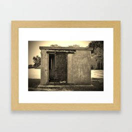 Old And Rusty Framed Art Print