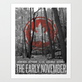 The Early November Art Print