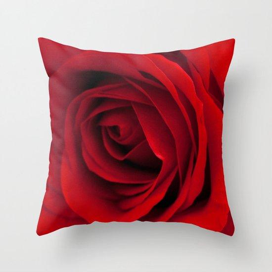 Heart of a rose  Throw Pillow