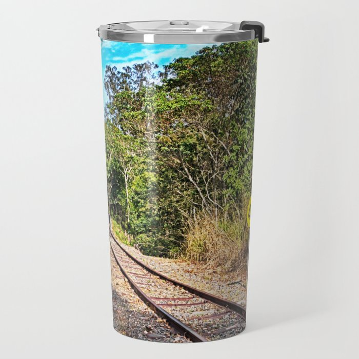Down the track a bit Travel Mug