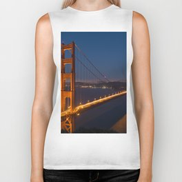 Golden Gate By Night Biker Tank