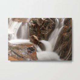 Shelving Rock Stream Metal Print