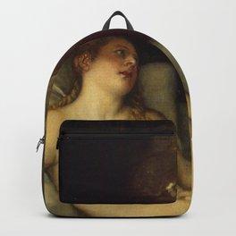 "Titian (Tiziano Vecelli) ""Danae receiving the Golden Rain"", 1553-1554 Backpack"