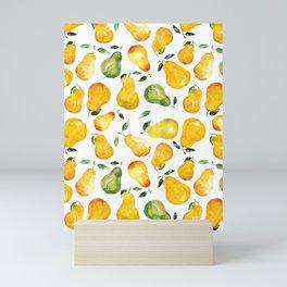 Sweet pears Mini Art Print