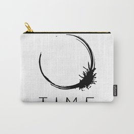 Arrival - Time Black Carry-All Pouch