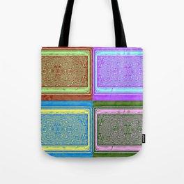 No' 24 Retro Patterns Tote Bag
