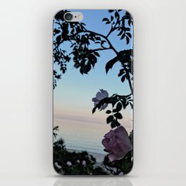 Nordic nature - The beach rose iPhone Skin