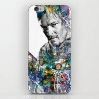 daryl iPhone & iPod Skins featuring Daryl Dixon by NKlein Design