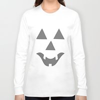 pumpkin Long Sleeve T-shirts featuring Pumpkin by Renato Armignacco