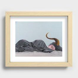 Sloth Recessed Framed Print