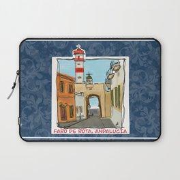 Faro de Rota, Andalucia Laptop Sleeve