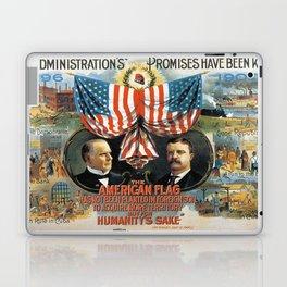 Vintage poster - William McKinley/Theodore Roosevelt Laptop & iPad Skin