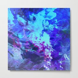 Misty Eyes of Tranquility Metal Print