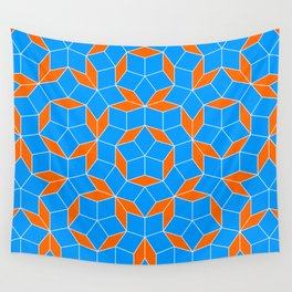 Penrose Tiling Pattern Wall Tapestry
