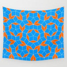 Penrose Tiling Pattern Wall Tapestry