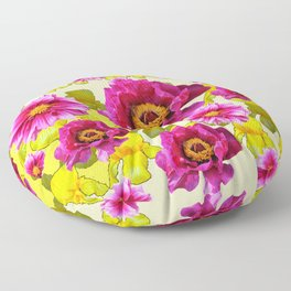 SPRING FLOWERS ART Floor Pillow