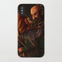 nori iPhone & iPod Cases featuring Axes and Knives by Hattie Hedgehog