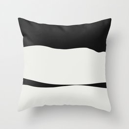 White Hills Ahead Throw Pillow