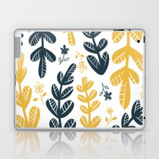 Yellow Leaves Laptop & iPad Skin