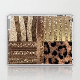 Gold Lioness Safari Chic Laptop & iPad Skin