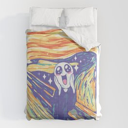 Kawaii Scream Comforters