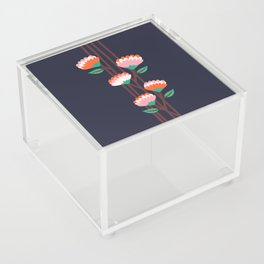 Benoít Flowers Acrylic Box
