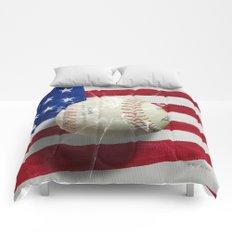 Baseball - New York, New York Comforters