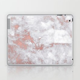Marble Rose Gold - Lost Laptop & iPad Skin